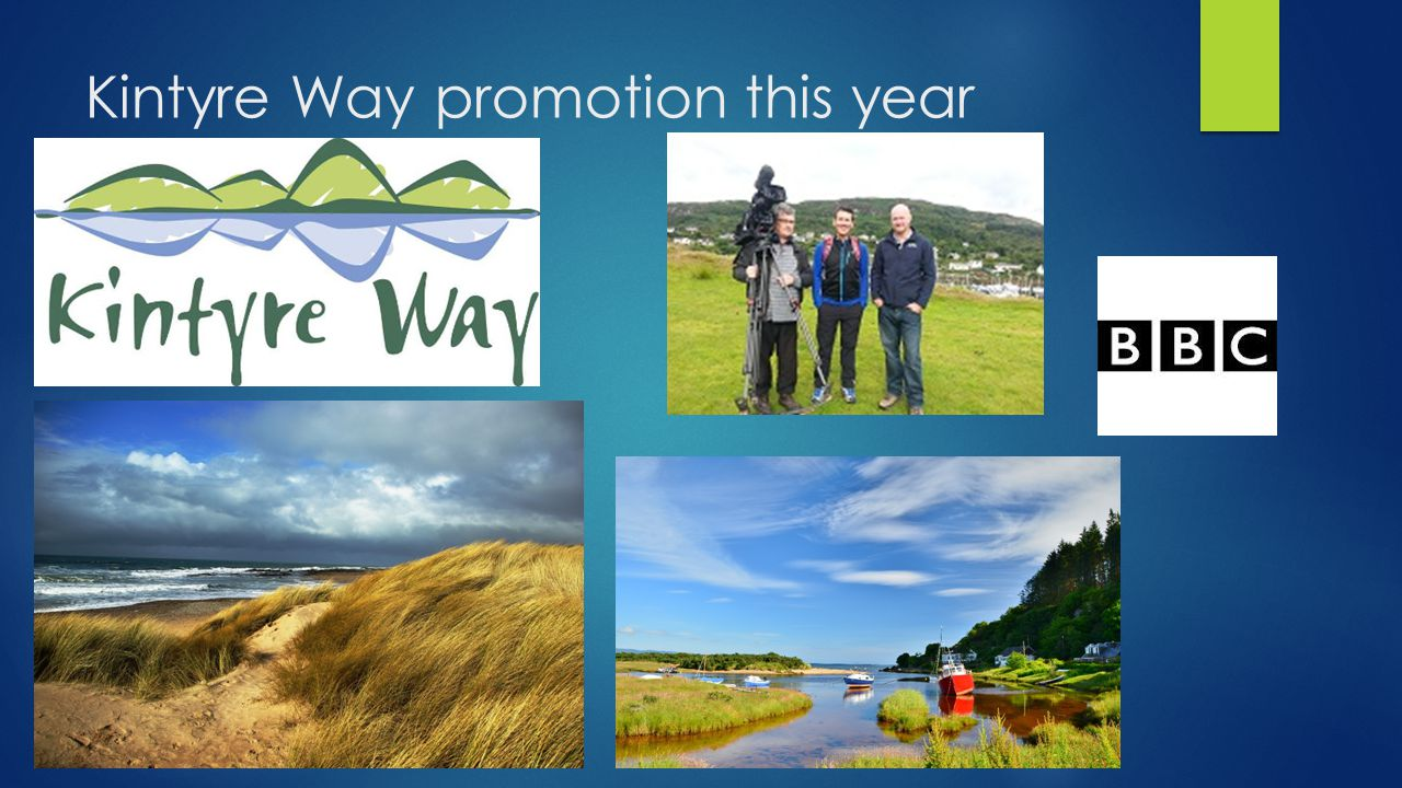 Kintyre Way promotion this year