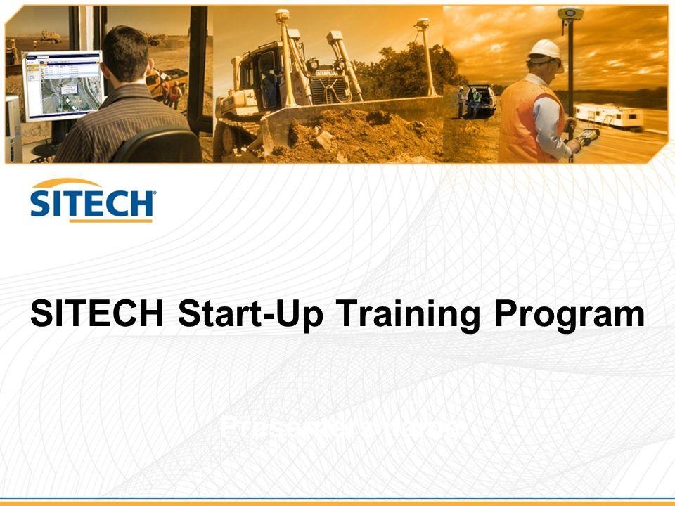 SITECH Start-Up Training Program Presenters name