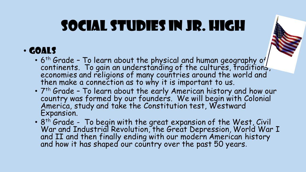 Social Studies in Jr.
