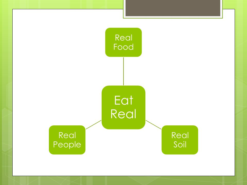 Advocate Food Policy Access to locally grown real food creates healthier citizens Support Green Dining & Sustainability Sample best practices Strategize for Wise Nutrition A great leader sets the pace
