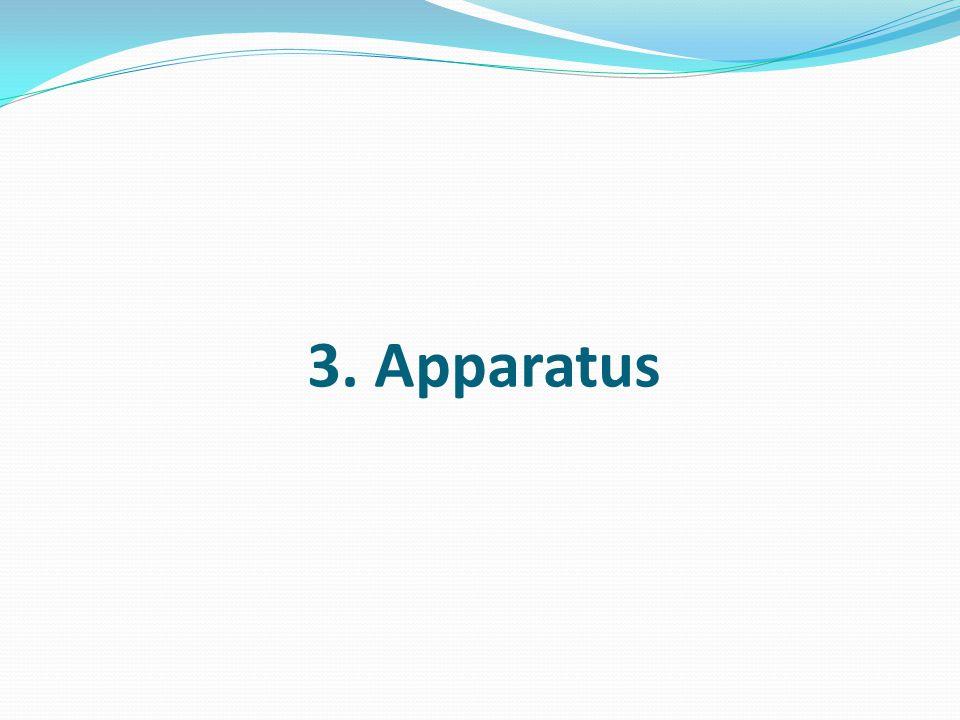 3. Apparatus