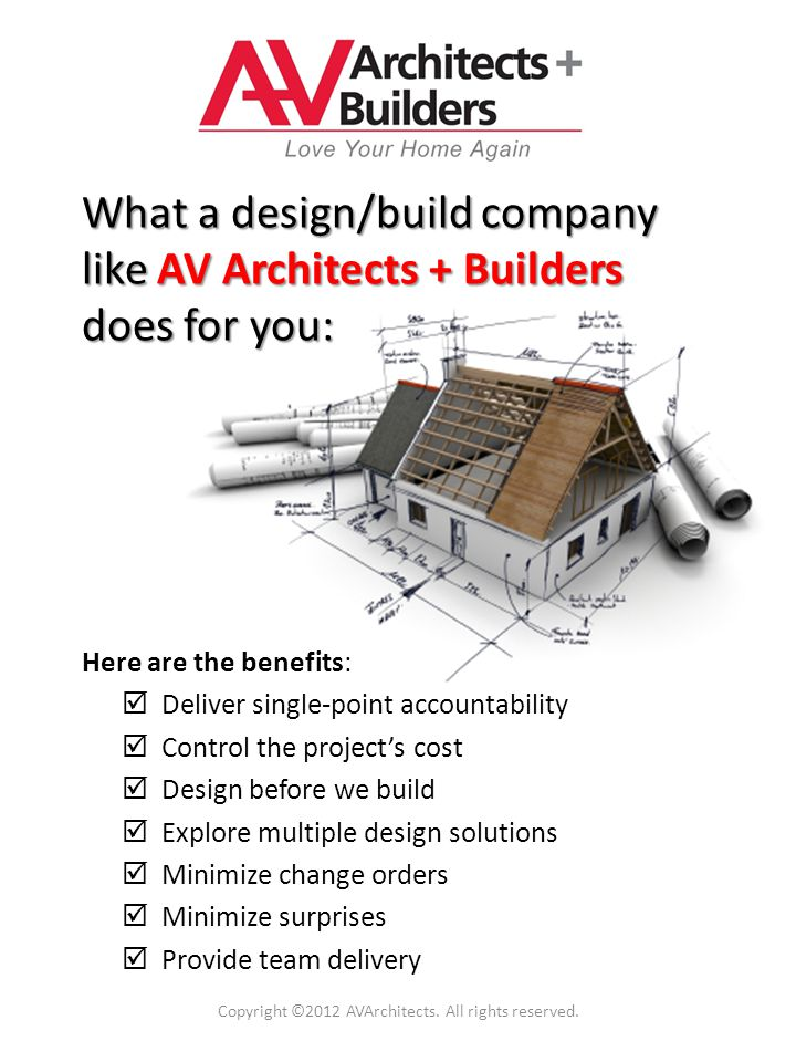 Another element in choosing the right architect is finding out what their biggest challenges are and what attracted them to your project.