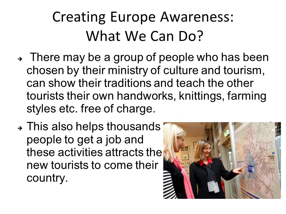 Creating Europe Awareness: What We Can Do.