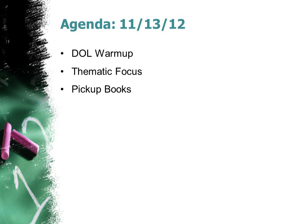 Reminders today  AoW 11 next week  DOL + Reflection Tuesday
