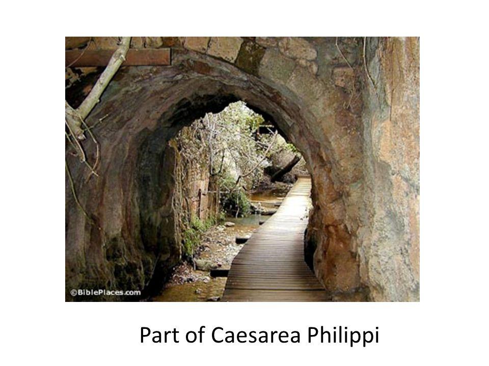 Part of Caesarea Philippi