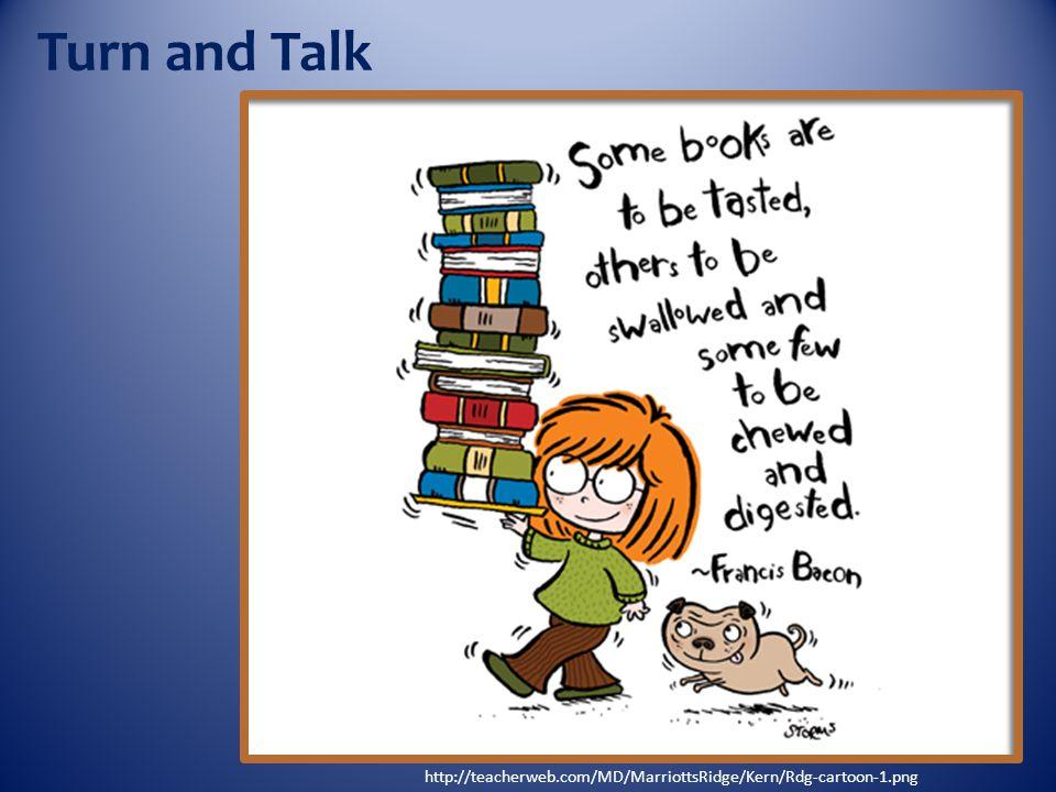Turn and Talk http://teacherweb.com/MD/MarriottsRidge/Kern/Rdg-cartoon-1.png