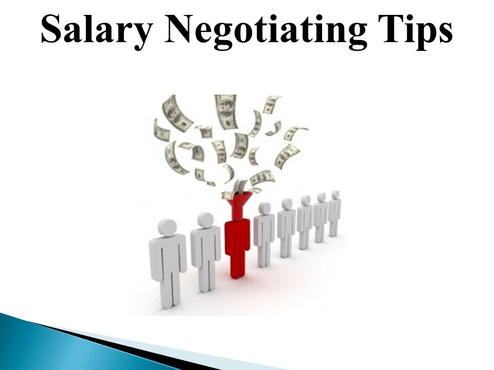Salary Negotiating Tips