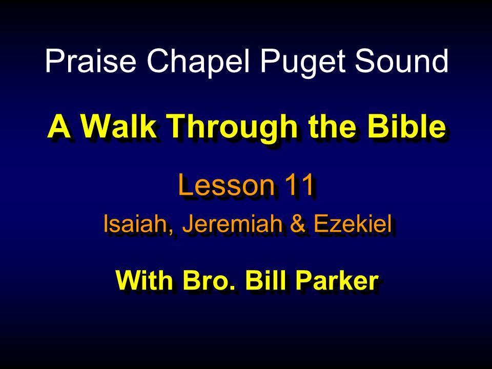 A Walk Through the Bible With Bro.
