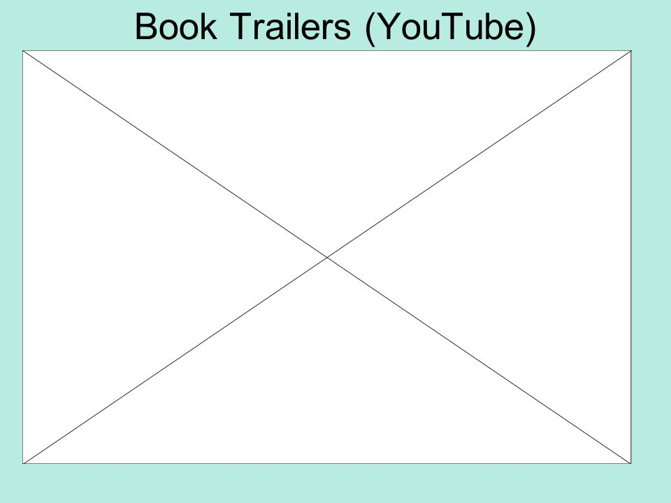 Book Trailers (YouTube)