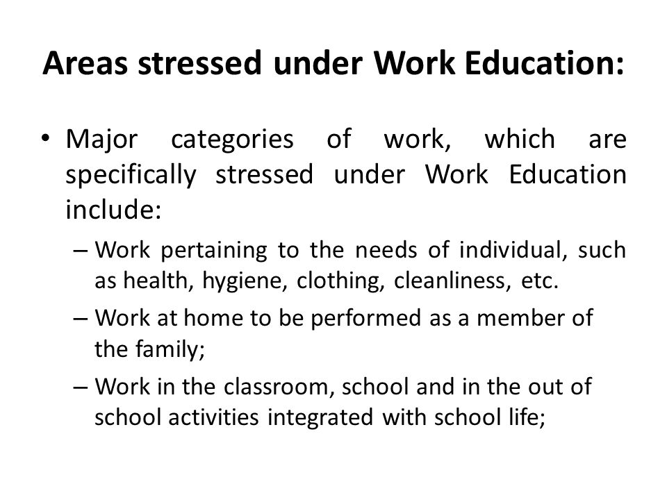 Work Education in Kendriya Vidyalayas: The Kendriya Vidyalayas are implementing the concept of work education in true and fruitful manner.
