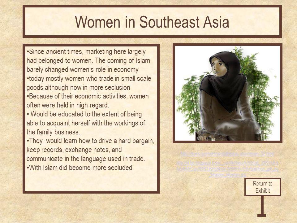 http://www.womeninworldhistory.com/essay-02.html http://4.bp.blogspot.com/_yev6kl1jeUA/S9iIgE_5fFI/AAA AAAAACac/tRRTjKhh5k0/s1600/HIJAB+bamboo_girl_by _Muslim_Women.jpg Since ancient times, marketing here largely had belonged to women.