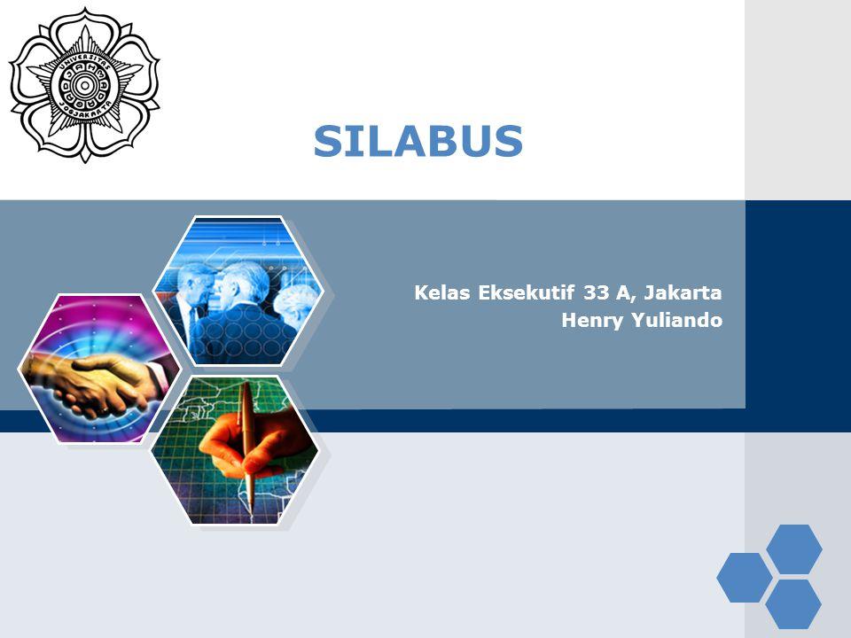 LOGO SILABUS Kelas Eksekutif 33 A, Jakarta Henry Yuliando