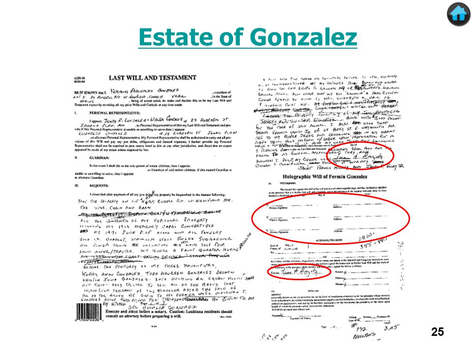 Estate of Gonzalez 25