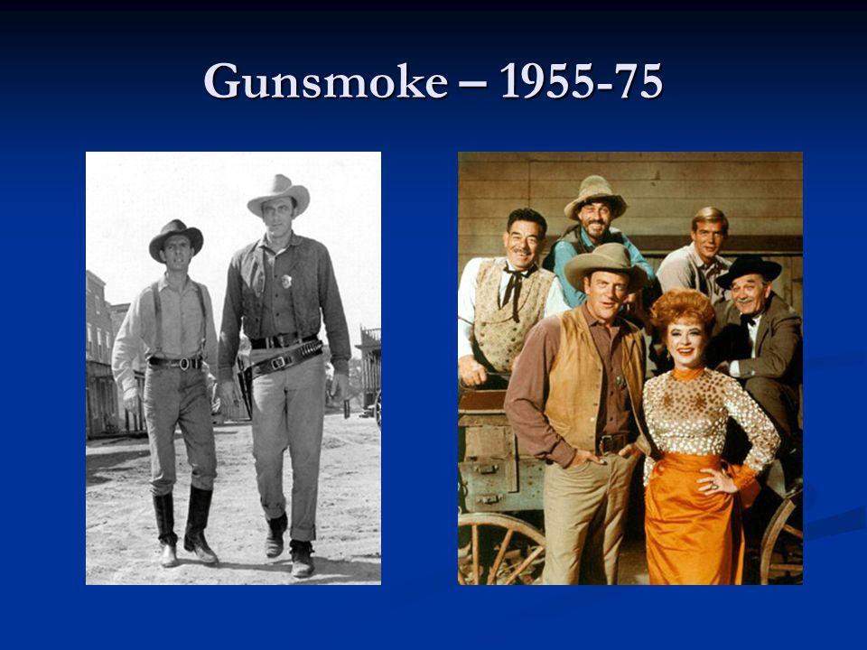 Gunsmoke – 1955-75