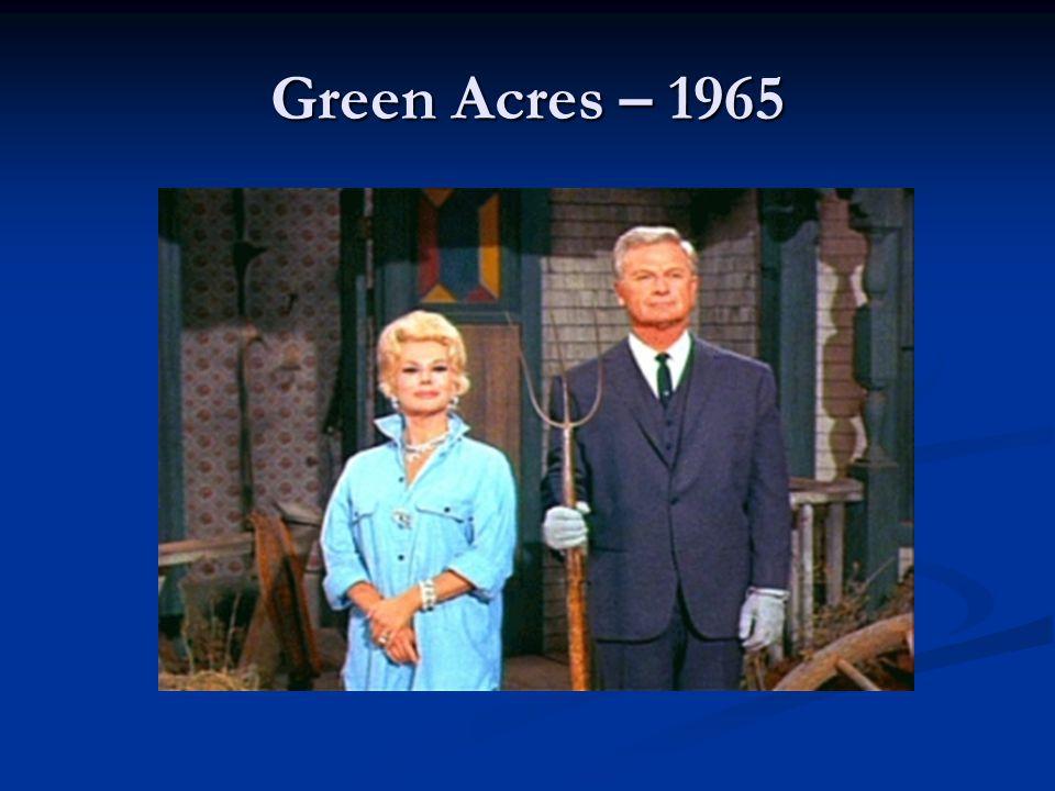 Green Acres – 1965
