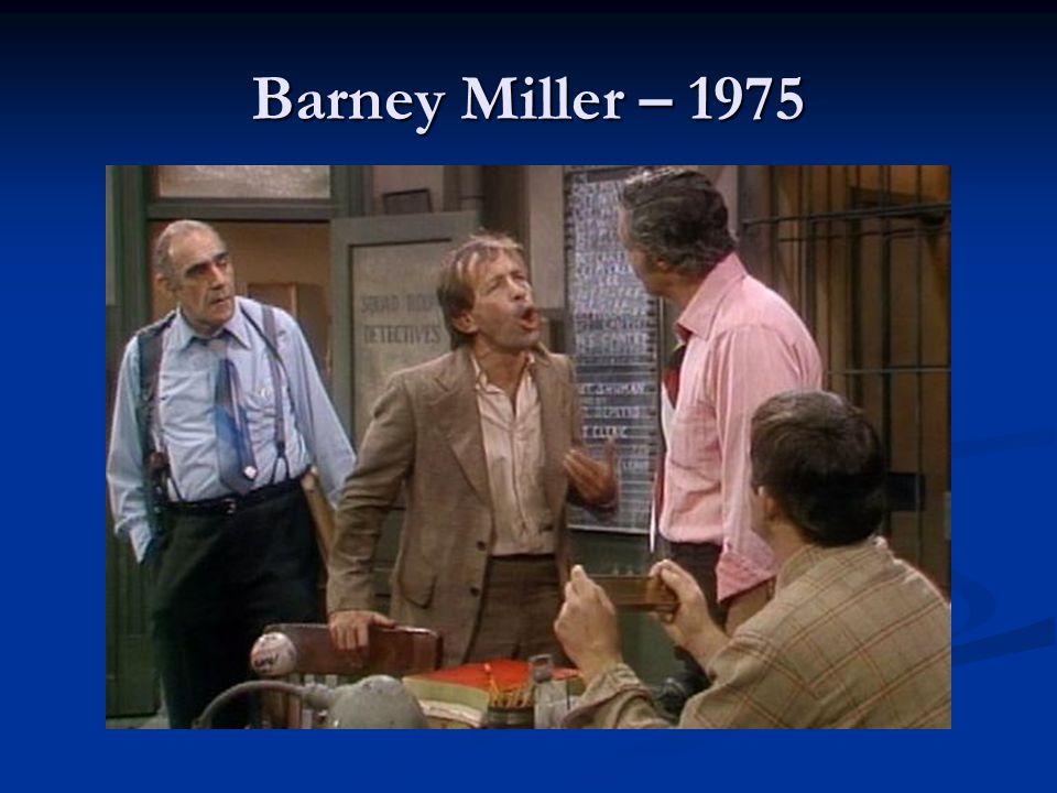 Barney Miller – 1975
