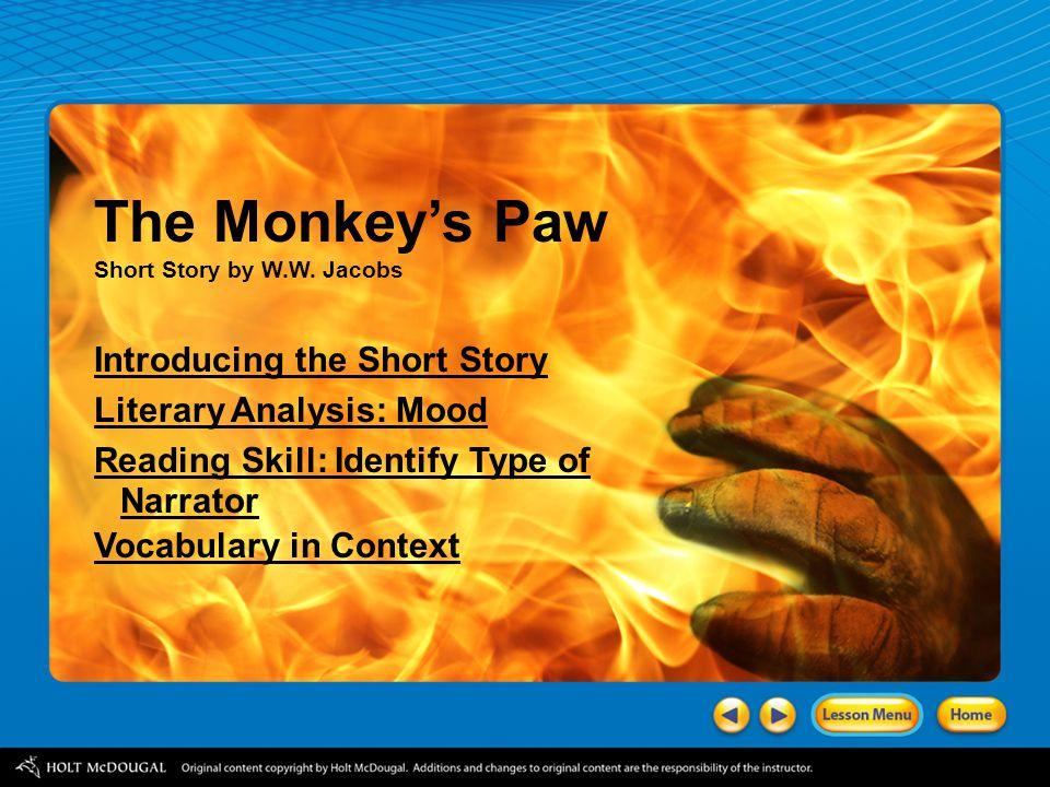 The Monkey's Paw Short Story by W.W.