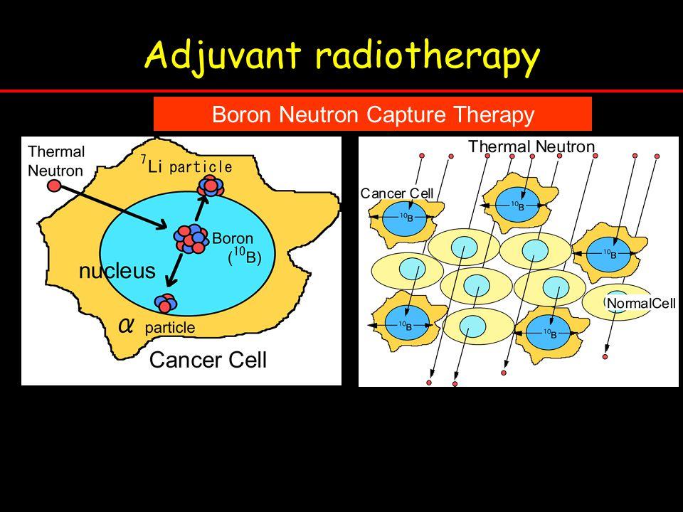 Adjuvant radiotherapy Boron Neutron Capture Therapy