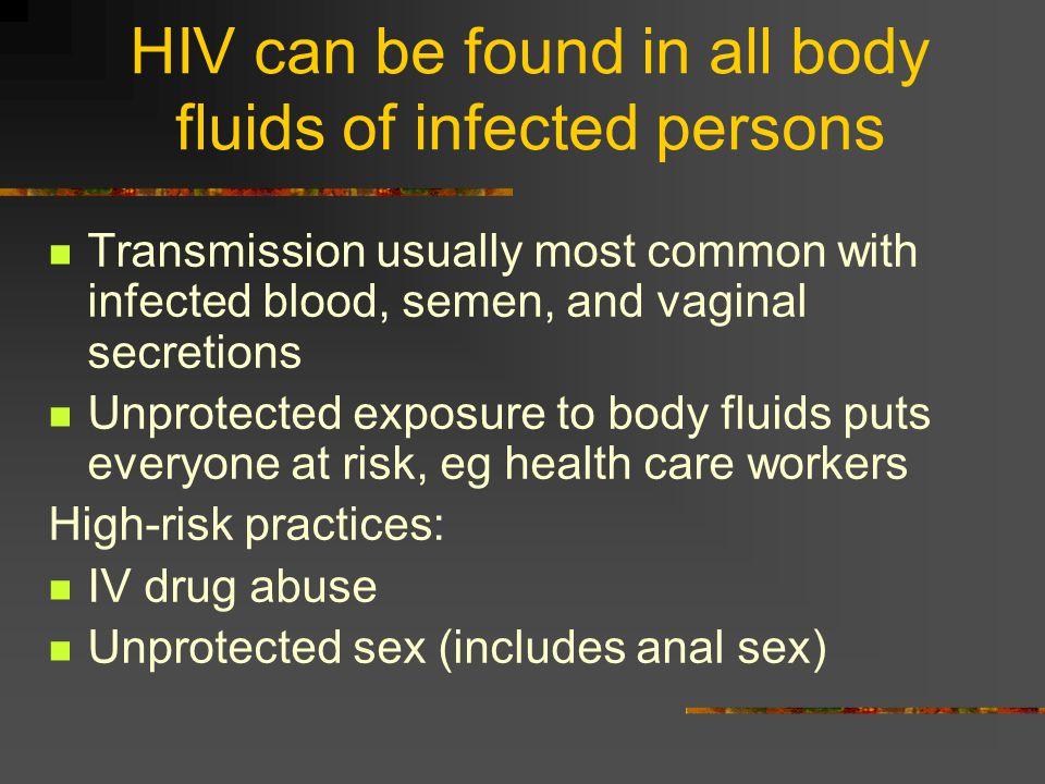 AIDS Etiology Human Immunodeficiency Virus (HIV)