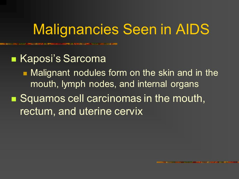 Some Opportunistic Infections Seen in AIDS