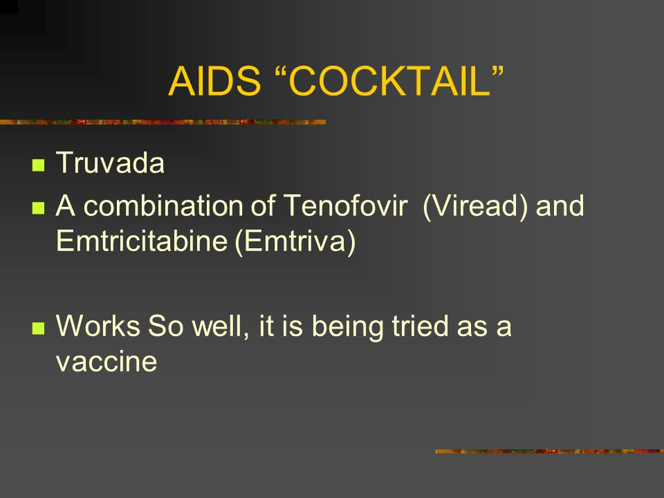 AIDS Treatment Current drug regimes prevent the virus from replicating.