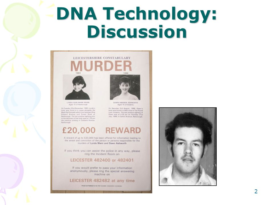 Genetic Profiling: Discussion 63