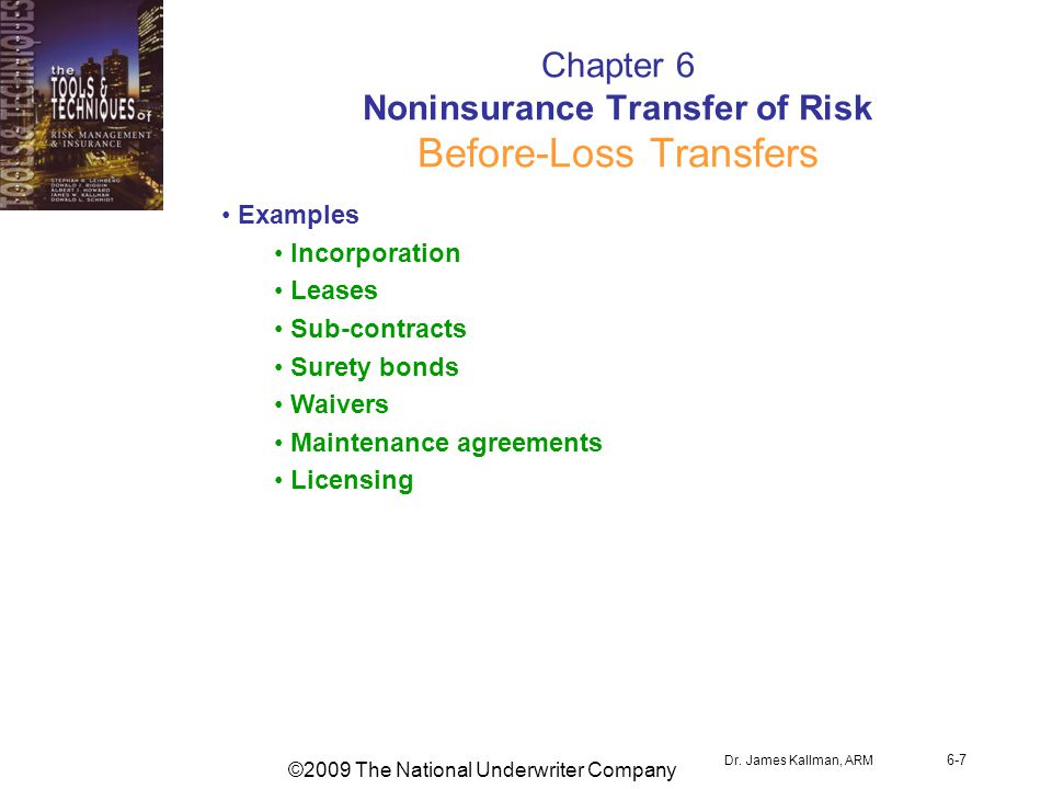 ©2009 The National Underwriter Company Dr.
