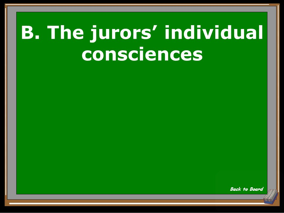 Atticus' final plea to the jury is aimed at: A. Condemnation of Mayella Ewell B. The jurors' individual consciences C. The unfairness of the prosecuti