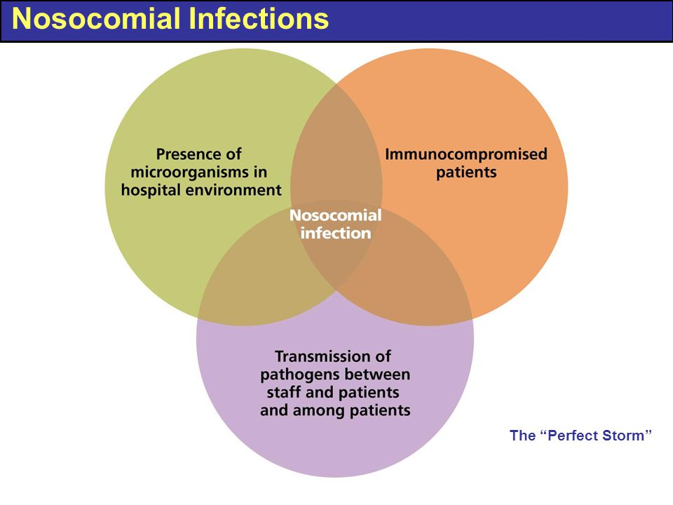 "Nosocomial Infections The ""Perfect Storm"""