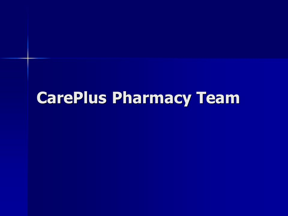 CarePlus Pharmacy Team