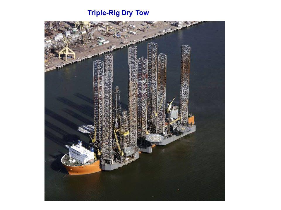Triple-Rig Dry Tow