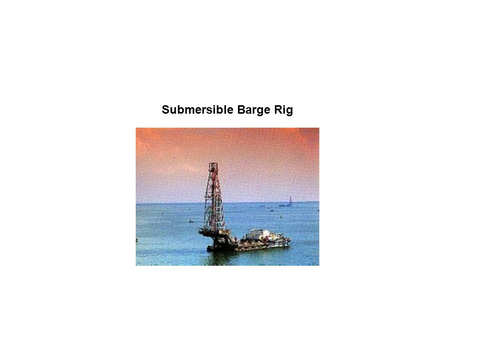 Submersible Barge Rig