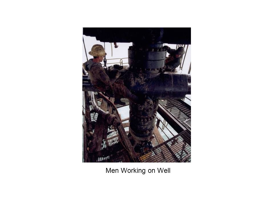 Men Working on Well
