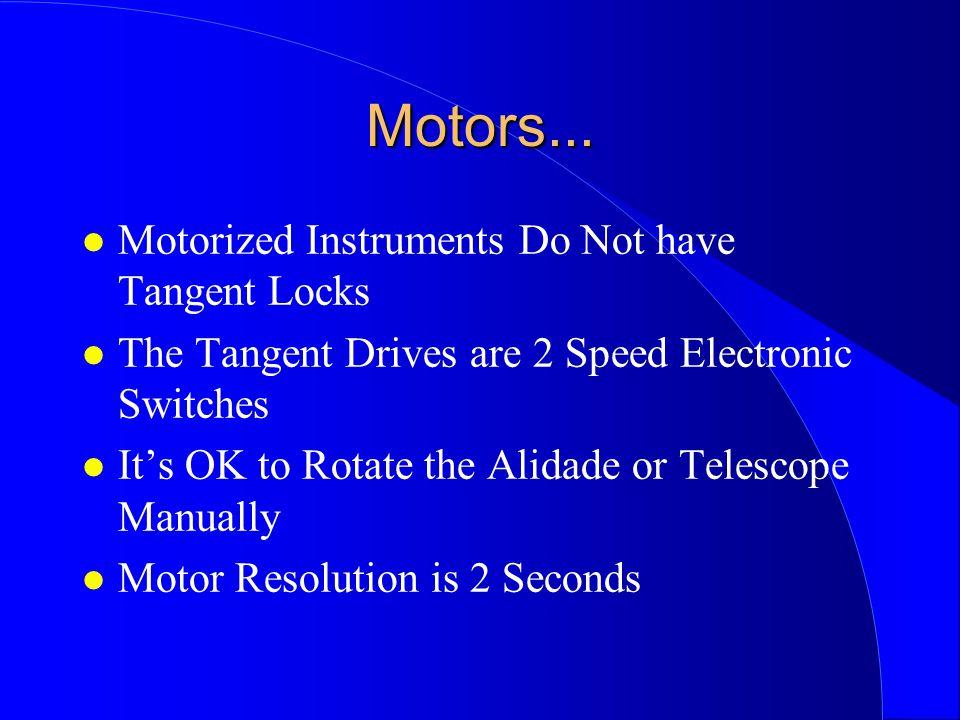 Motors...