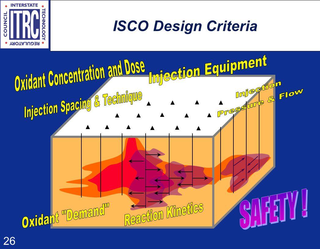 26 ISCO Design Criteria