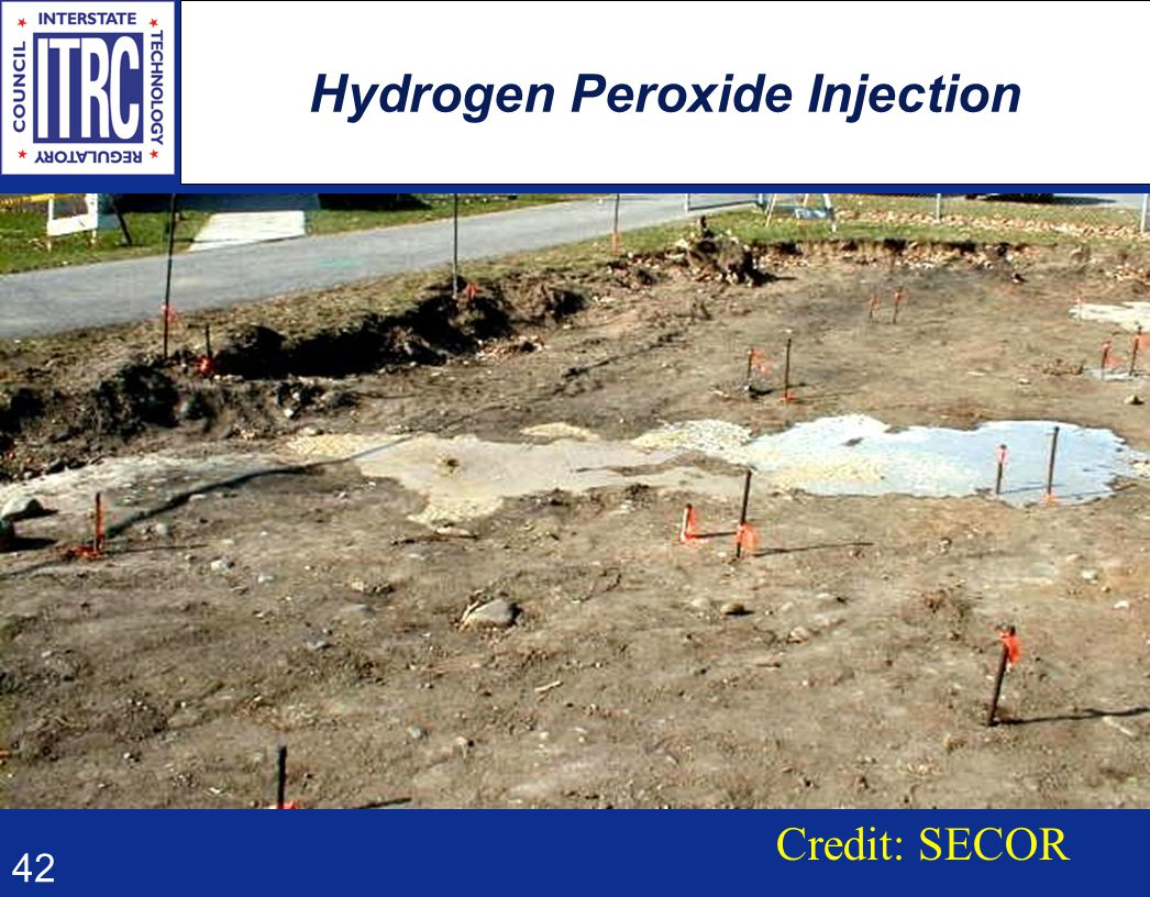 42 Hydrogen Peroxide Injection Credit: SECOR