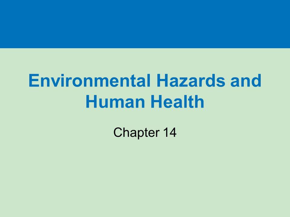 Environmental Hazards and Human Health Chapter 14