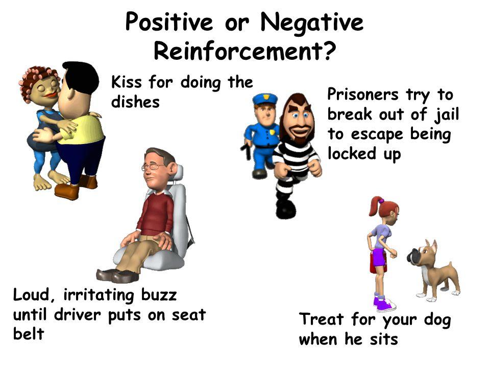Positive or Negative Reinforcement.