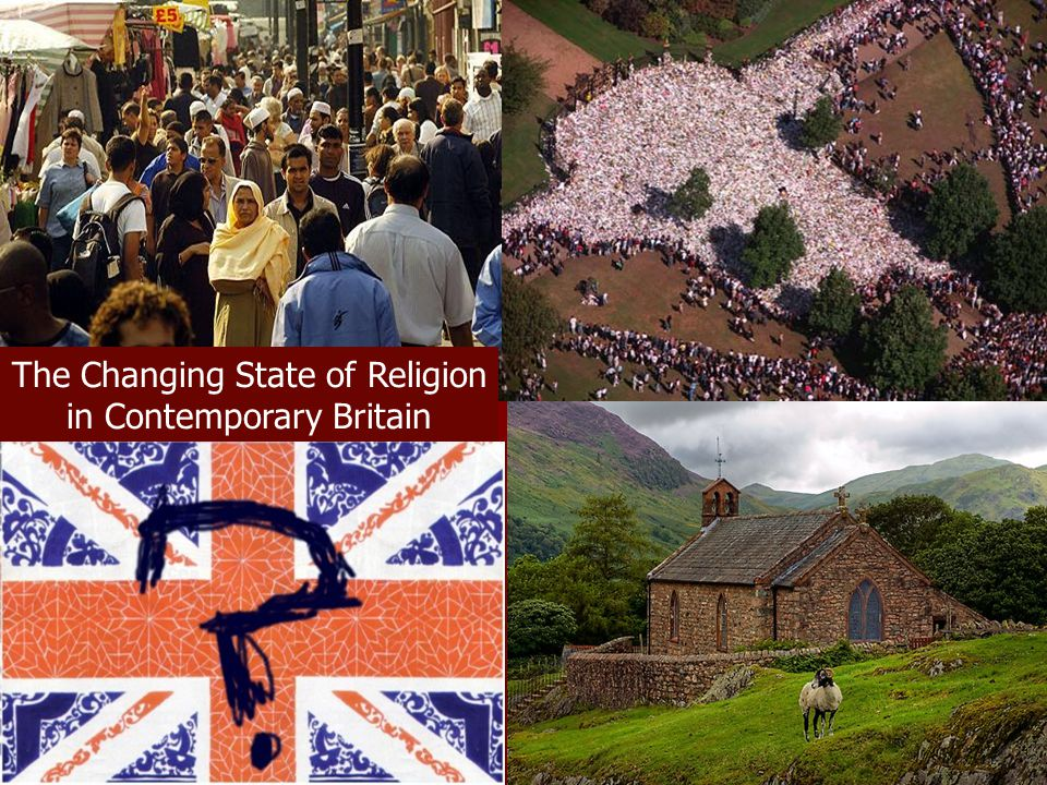The Changing State of Religion in Contemporary Britain