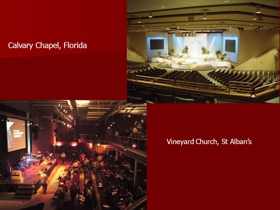 Vineyard Church, St Alban's Calvary Chapel, Florida
