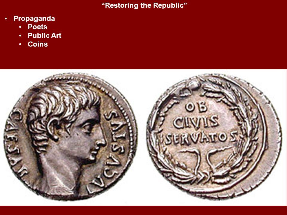 """Restoring the Republic"" Propaganda Poets Public Art Coins"