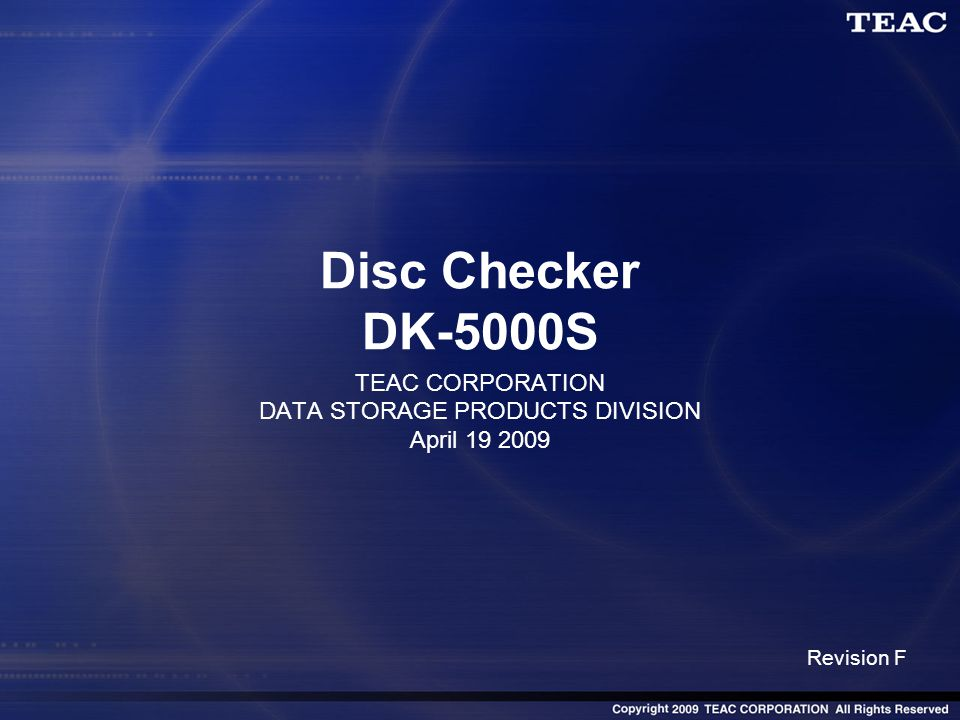 2 What is Disc Checker DK-5000S.