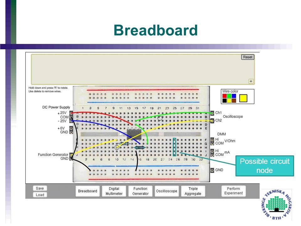 Breadboard Possible circuit node
