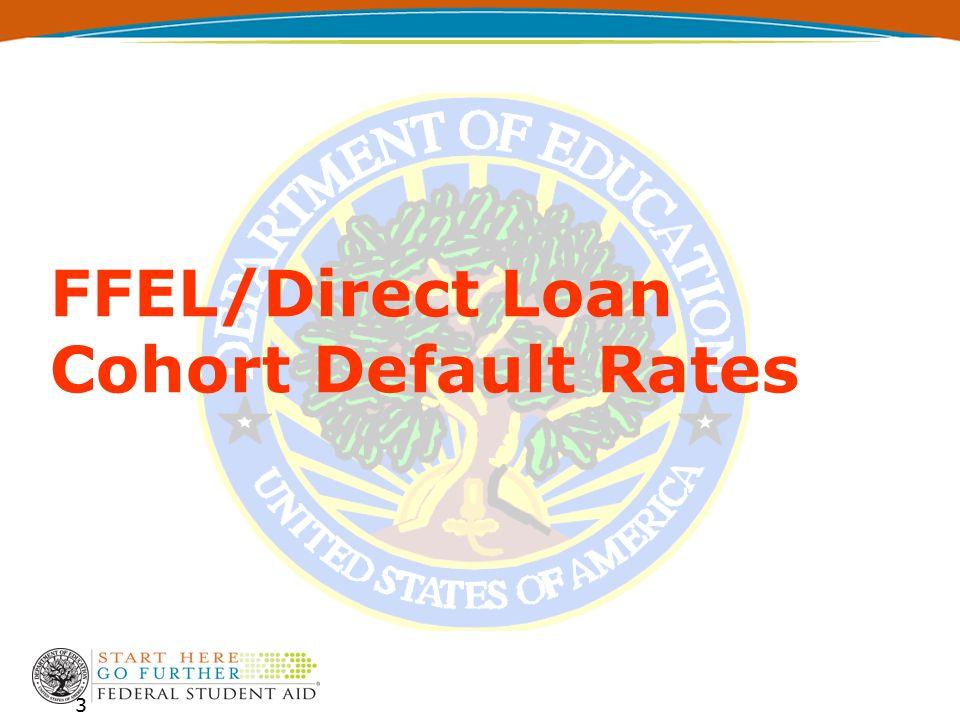 National Student Loan Cohort Default Rates