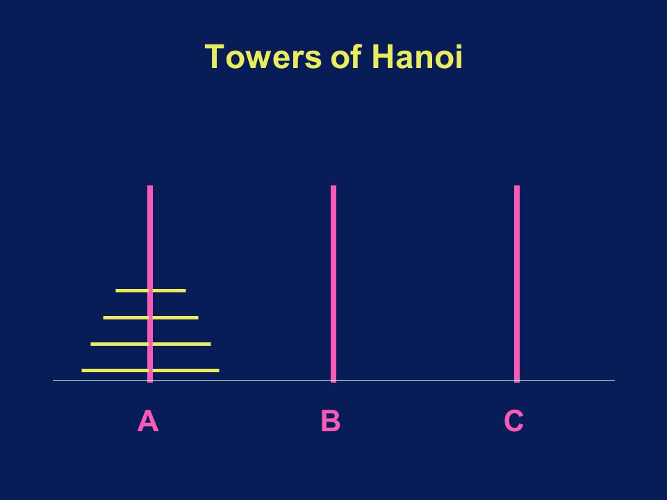 Towers of Hanoi ABC