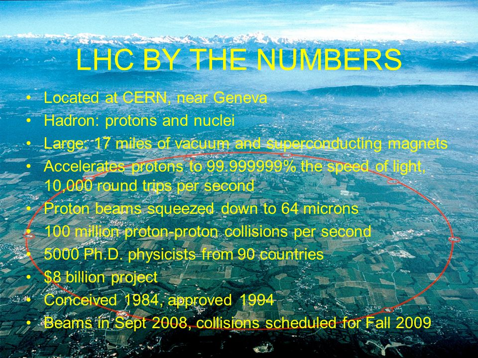 8 Apr 09 Particle Physics Condensed Matter Physics Biological Physics Astrophysics Cosmology Nuclear Physics Atomic Physics LHC Feng 3 SCIENTIFIC GOALS