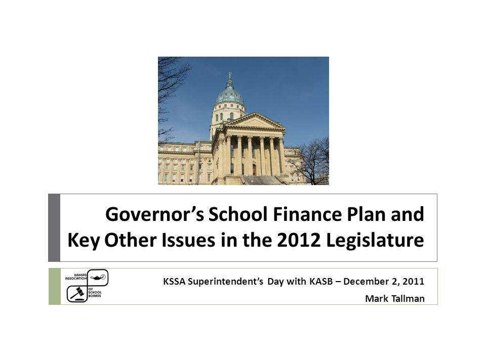  Governor's staff indicate state aid will increase under this plan, at least initially, for hold harmless.