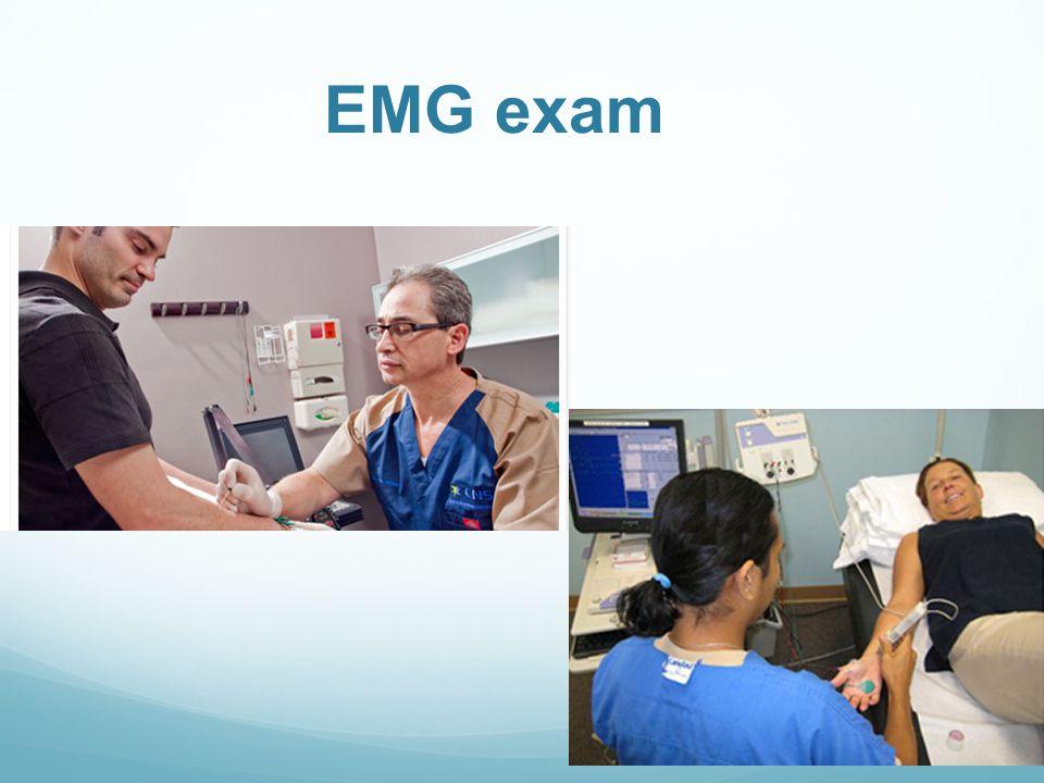 EMG exam