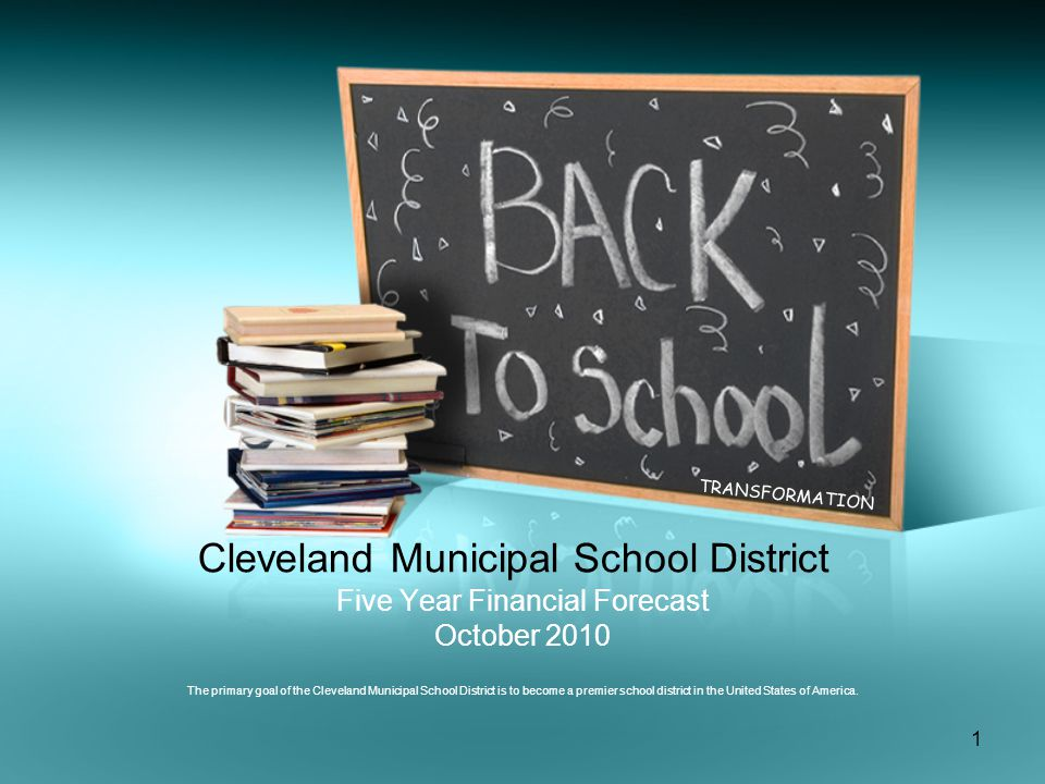 12 Cleveland Municipal School District Supplies, Textbooks, Equipment, and Other Expenditures