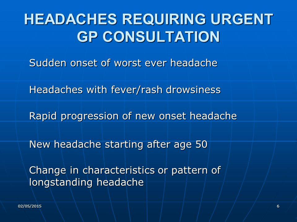 02/05/201517 How to recognise Migraine .